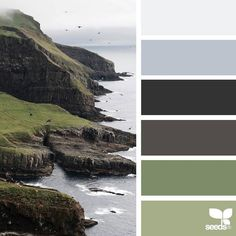 today's inspiration image for { coastal hues } is by @diana_lovring ... thank you, Di, for another fantastic #SeedsColor image share!