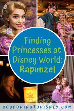 Finding Princesses at Disney World: Rapunzel Disney World Shows, Disney World Characters, Disney World Magic Kingdom, Disney World Tips And Tricks, Disney World Vacation Planning, Walt Disney World Vacations, Disney Cruise, Disney Parks Blog, Disney World Parks