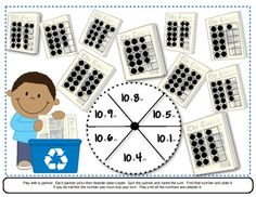 Cooperative partner activities for addition plus two, subtraction minus two, doubles addition and composing teen numbers with addition.   A number line included with each game! Black-lined and color copies are included for all 4 games. $2.25