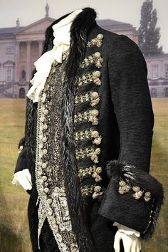 Ralph Fiennes as the Duke of Devonshire costume in 'The Duchess', 2008. Late 18th Century Georgian costumes by Michael O'Connor.