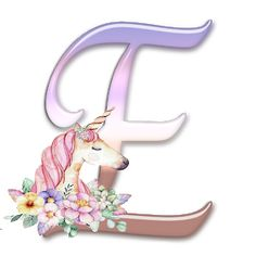 Alphabet Letters Design, Monogram Letters, Letters And Numbers, Pegasus, Unicorn Painting, Queens Wallpaper, Minnie Png, Colouring Pics, Unicorn Birthday Parties