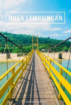 Your guide to Nusa Lembongan! A paradise island 30 minutes off the coast of Bali. One of my favorite places in the world!