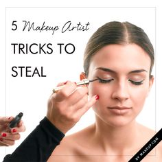 5 makeup artist tricks to steal
