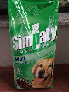 Mangime Completo Cani Adulti Simpaty Nutrizione E Gusto http://www.ebay.it/itm/Mangime-Completo-Cani-Adulti-Simpaty-Nutrizione-E-Gusto-/281461454226?pt=IT_Stanza&hash=item418868f592