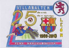La Asociación Peña Barcelonista Villabalter celebra sus Bodas de Plata, 25 Aniversario
