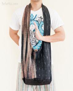 Unique Handwoven Purist Hippie Patchwork Shoulder Bag (MB-35)