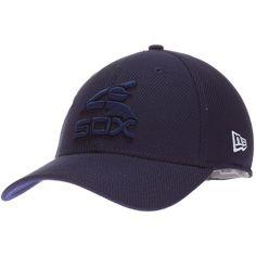 Chicago White Sox Navy Multiple Batterman Logo Flex Fit Hat by New Era   Chicago   b7c46d25aa87