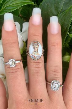www.engagejeweler.com to shop these engagement ring settings (over 600 designs to choose from and customize). #engagementring #diamondring #haloengagementring #emeraldcut #accentedring #womensjewelry #vintagering #vintageengagementring #vintagejewelry #diamond #bridaljewelry #proposalplanning #weddingplanning #proposalinspo #engagementinspiration #jewelrytrends #weddingtrends #marriageproposal Engagement Ring Settings, Vintage Engagement Rings, Diamond Engagement Rings, Emerald Cut Rings, Engagement Inspiration, Marriage Proposals, Vintage Vibes, Wedding Trends, Jewelry Trends