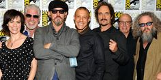 Sons cast at SDCC