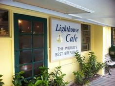 """After you collect your sea shells while your in Sanibel Island, Florida don't forget to have """"The World's Best Breakfast"""" at Lighthouse Cafe 362 Periwinkle Way Sanibel Island FL 33957"""