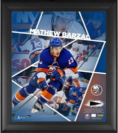4a219050f Mathew Barzal New York Islanders Framed 15