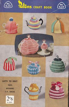 Patons C14 Vintage Knitting & Crochet by allthepreciousthings,