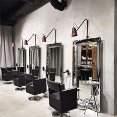Дизайн интерьера салона красоты Domenico Castello Москва. Готовые решения.