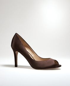 potential shoes for toni's wedding? a little pricey for shoes I wont wear again at $145 though... Ann Taylor