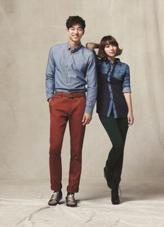 """gong yoo and lee min-jung """"Big""""."""
