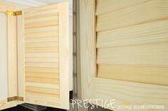 Drewniana Okiennica Żaluzyjna - nieruchome lamele