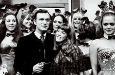 Hugh Hefner, Barbi Benton and the bunnies