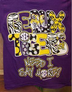 7b083c58c 53 Best Tiger Spirit images   Louisiana State University, Lsu tigers ...