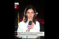 """Viu a gafe na Globo News? Repórter largou um """"Você nao me avisou, amor"""" ;-)"""