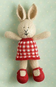 Gingham knit-darling!