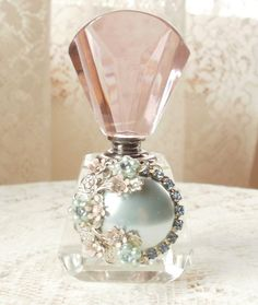 I want to collect beautiful perfume bottles for my dressing table.  Lady-Gray-Dreams