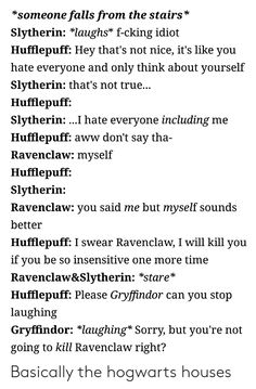 Best Memes About Hufflepuff Slytherin . Harry Potter Marauders, Harry Potter Jokes, Harry Potter Fandom, Harry Potter Universal, Harry Potter Hogwarts, Harry Potter World, Severus Snape, Draco Malfoy, Hermione Granger