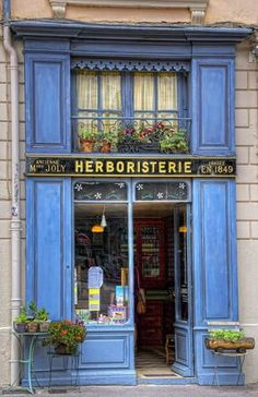 herboristerie - 12 best shopping cities in the world Boutiques, Herbal Shop, Vintage Store, Lyon France, French Cafe, Belle Villa, Shop House Plans, Shop Fronts, Shop Around