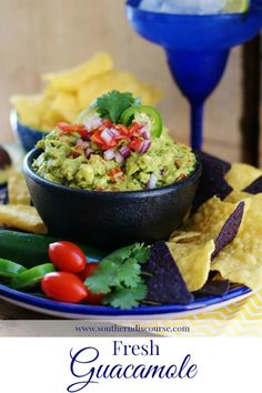 Low Carb Recipes To The Prism Weight Reduction Program Fresh Guacamole: A Tex-Mex Favorite - A Southern Discourse Cooking Classes Nyc, Cooking Websites, Fresh Guacamole, Guacamole Recipe, Chimichurri, Enchiladas, Mexican Food Recipes, Ethnic Recipes, Mexican Dishes