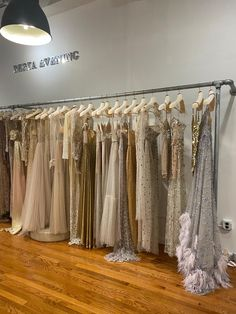 #BERTA evening | Available at our Soho showroom Berta Bridal, Bridal Gowns, Different Seasons, Soho, Valance Curtains, Showroom, Nyc, Design Inspiration, Fashion Design