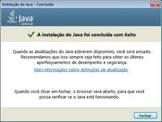 Como posso baixar e instalar manualmente o Java em meu computador Windows?
