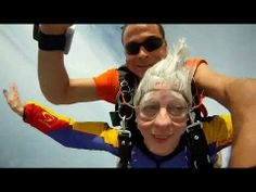 What's the coolest way to raise money for a myGFA campaign? That's right, these two Canadian women skydive for the very first time, rais. Leap Of Faith, How To Raise Money, The Borrowers, Like You, Videos