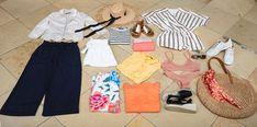 Kleidung clever kombinieren: So sind Sie im Sommerurlaub immer passend angezogen - T'DORO