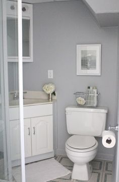 Bathroom paint color idea- Knitting Needles from Sherwin Williams