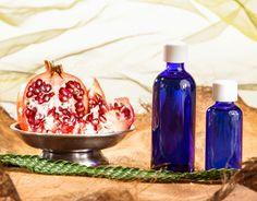 Duschgel selber machen - Duschgel Rezept für ein Granatapfel Duschgel