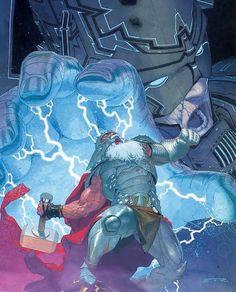King Thor Vs Galactus