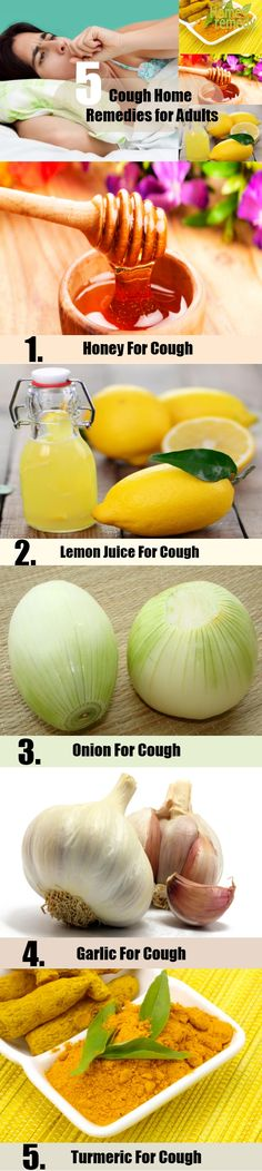 5 Cough Home Remedies for Adults