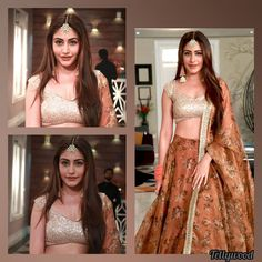 Indian Bridal Outfits, Pakistani Bridal Dresses, Hot Actresses, Indian Actresses, Indian Reception Outfit, Surbhi Chandna, Lehnga Dress, Indian Actress Hot Pics, Cute Celebrities