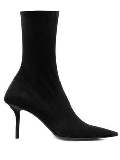 Great for Balenciaga Square Knife velvet booties Shoes from top store Kimono Style Dress, Kimono Fashion, Black Heels, High Heels, Beyonce Style, Green Maxi, Buy Shoes, Nike Shoes, Sneakers Nike