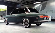 Datsun 510 by Lukynix Designs   #datsun #datsun510 #510 #lukynix #lukynixdesigns #cardesign #italianstyle #carstyling #tuning #carstylist #xboxone #forzamotorsport6