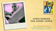 Chris Marker par Agnès Varda.Agnès Varda a parcouru la rétrospective de son ami Chris Marker, présentée aux Rencontres de la Photographie de Arles jusqu'au 18 septembre
