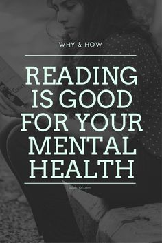 Many of us already *feel* like reading is good for your mental health - but is it? Science says it is, and we give some examples. I Love Books, Good Books, Books To Read, My Books, Quotes For Book Lovers, Book Quotes, Romance Quotes, Philosophy Quotes, Love Reading