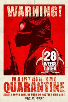 28 Weeks Later - movie poster