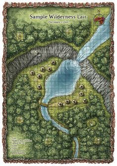 Some Random Encounter maps - Legacy Gaming Company Fantasy City Map, Fantasy Places, Forest Map, Pathfinder Maps, Rpg Map, Forgotten Realms, Dungeon Maps, D&d Dungeons And Dragons, City Maps