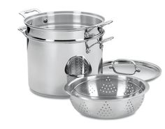 Cuisinart's stainless steel and pure aluminum ensure a fast and even heating for your dishes.
