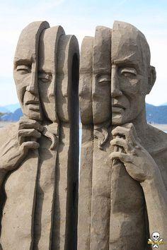 Sand Sculpting: Carl-Jara-2008WorldChampionships