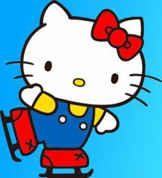 Ice Skating Hello Kitty ❤️