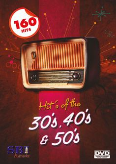 Karaoke Classics with the Songs from 1930's, 1940's and 1950's on DVD from SBI Karaoke