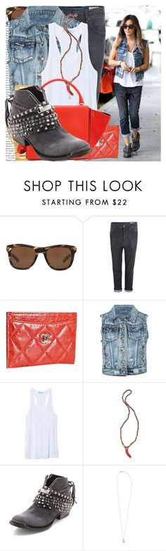 """ashley tisdale visiting nine zero one salon"" by cla-90 ❤ liked on Polyvore featuring Oliver Peoples, AllSaints, Chanel, ...Lost, T By Alexander Wang, Rolex, Vanessa Mooney, CÉLINE, Steve Madden and Dogeared"