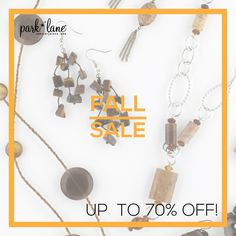 Up to 70% off Fall Jewelry sale! Update your wardrobe with these great deals!