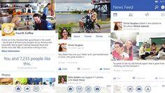 Con la reciente versión de Windows Phone 8.1, varias aplicaciones recibirán actualizaciones que ayudarán a modificar y a mejorar su imagen. Una de ellas es Facebook, quien tendrá mejoras importantes que seguramente a sus usuarios les encantarán! #miguelbaigts
